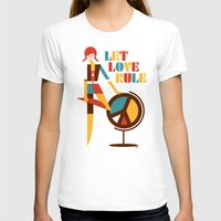 hippie T-shirts featuring Hippie Chick by Szoki