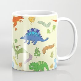 Dinosaur Pattern Coffee Mug