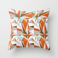 italian Throw Pillows featuring Italian Seaside by Norman Duenas
