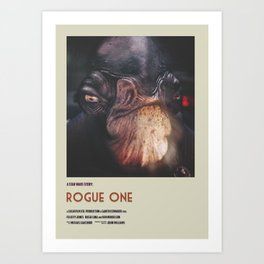 Rogue One Retro Poster IV Art Print
