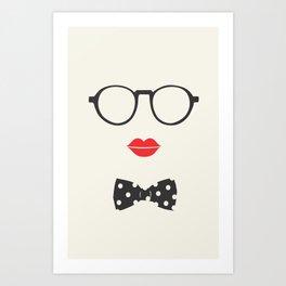 nerdygirl Art Print