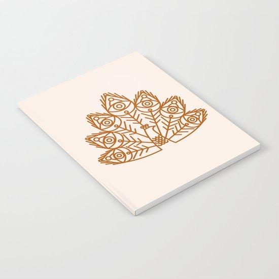 Cosmic Peacock Notebook