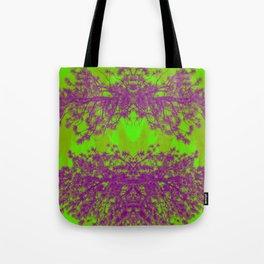 Psychedelic Skies Tote Bag