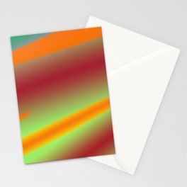 RED OANGE MARRON TEXTURE ART Stationery Cards
