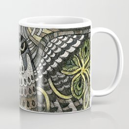 Falcon on clover Coffee Mug