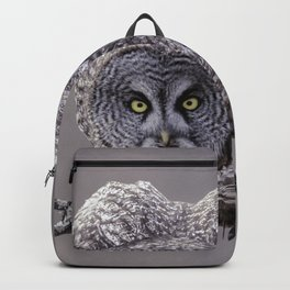 Great Gray Owl Attack Ready Backpack