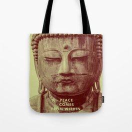 Buddha Duotone 3 Tote Bag