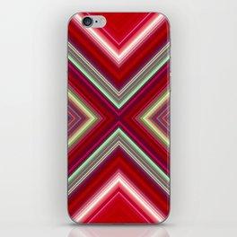 Electronic Ruby iPhone Skin