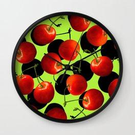 CHERRY BABY Wall Clock
