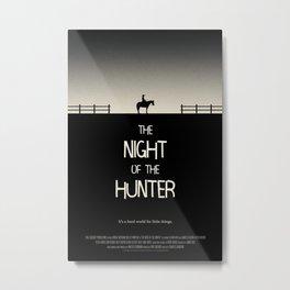 The Night of the Hunter Metal Print