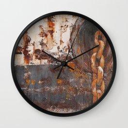 Anchored Wall Clock