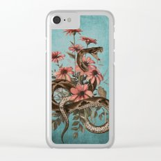 Snake 4 Clear iPhone Case