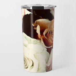 Vintage Rose Travel Mug