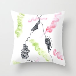 Scandi Micron Art Design | 170412 Telomere Healing 9 Throw Pillow