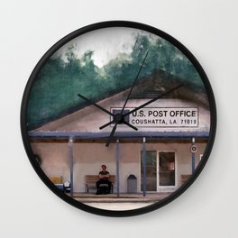 Coushatta Post Office - Better Call Saul Wall Clock