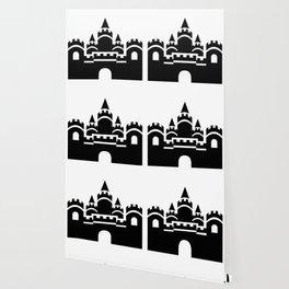 Kingdom Castle Silhouette Icon Clipart Wallpaper
