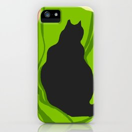 Kitty Green iPhone Case