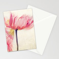 Isis. Poppy flower photograph Stationery Cards