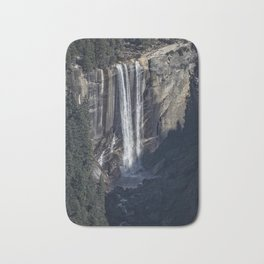 Vernal Fall From a Distance Bath Mat