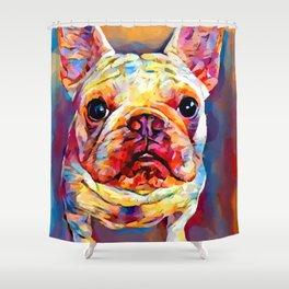 French Bulldog 11 Shower Curtain