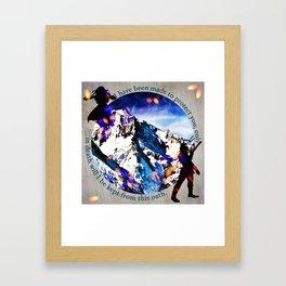 Nina and Matthias - Protect Framed Art Print