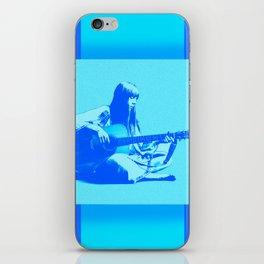 Blue Songbird Joni Mitchell iPhone Skin