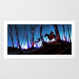 Unsung Hero - The Twilight Bark Art Print
