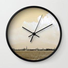 Cielo Giallo d'Italia Wall Clock