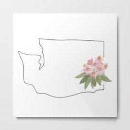 wa state flower Metal Print