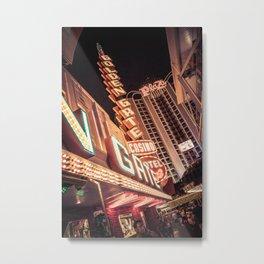 Old Vegas Metal Print