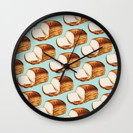Bread Pattern Wall Clock