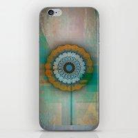 mandela iPhone & iPod Skins featuring Grunge Mandela by Robin Curtiss