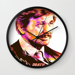 Charles Bronson: BAD ACTORS Wall Clock