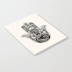 Hamsa Hand Pug Notebook