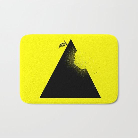 Apple pyramid Bath Mat