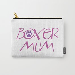 Boxer Mum Carry-All Pouch