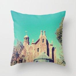 Mansion Architecture Closeup 1 Throw Pillow