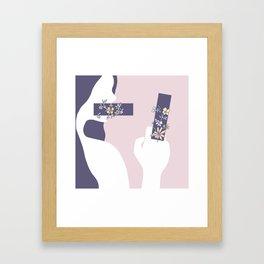 Encumbered Exploration of Existence (Unwritten Honesty) Framed Art Print