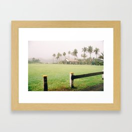 Hana Church Framed Art Print