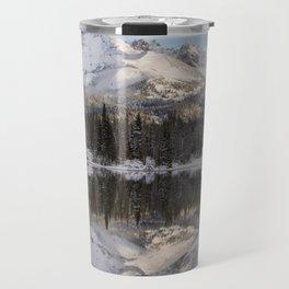 Broken Top sunrise reflection Travel Mug
