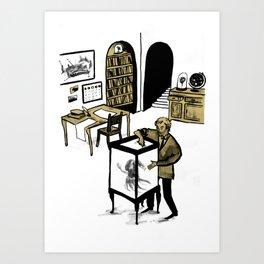 Professor Lupin Art Print