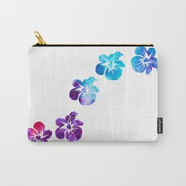 Hi Hibiscus - Minimal Carry-All Pouch