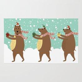 Bears as Three Kings Rug