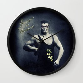Souvenir de Printemps Wall Clock