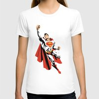 dc T-shirts featuring DC - Superman by TracingHorses
