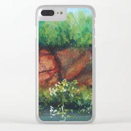 A Broken Bluff MM160216d Clear iPhone Case