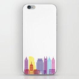 Atlanta V2 skyline pop iPhone Skin