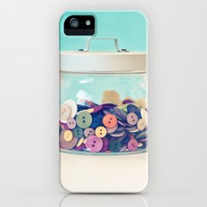 Where's Baby's Button? iPhone (5, 5s) Slim Case