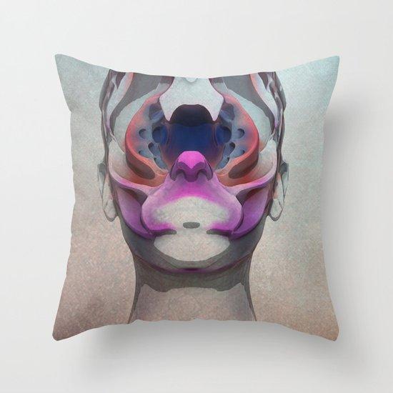 Bugged Throw Pillow