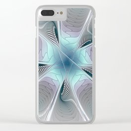 To the Center Clear iPhone Case